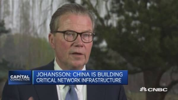 Important to hold onto freer world trade: Ericsson chairman