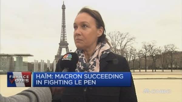 Macrons was credible, new face for France