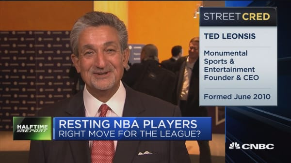 Washington Wizards owner: Empathize and support NBA commissioner