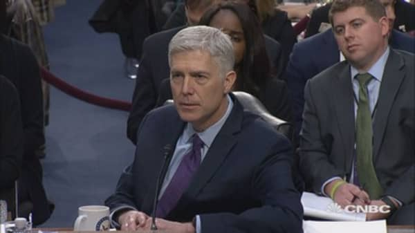 Gorsuch: Same-sex marriage 'protected the Constitution'
