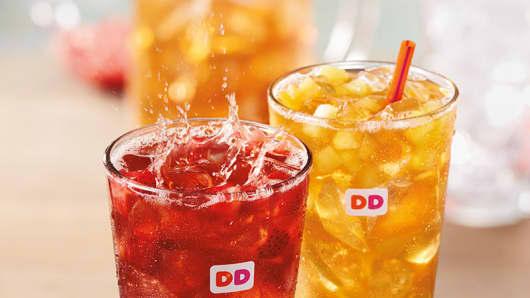 Dunkin' Brands Fruited Iced Teas