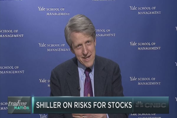 Shiller on valuations