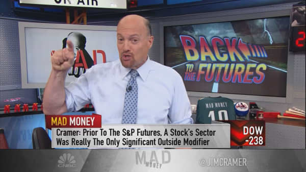 Cramer's advice for when stocks drop for no apparent reason