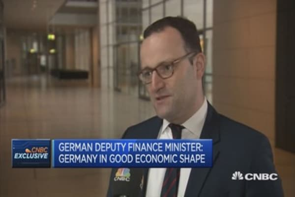 We are in the best economic shape for decades: German deputy FinMin