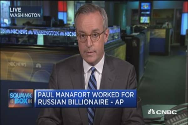 Paul Manafort worked for Russian billionaire: AP