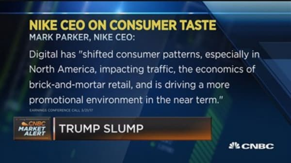 Nike is going to come back but Adidas is killing it: Cramer