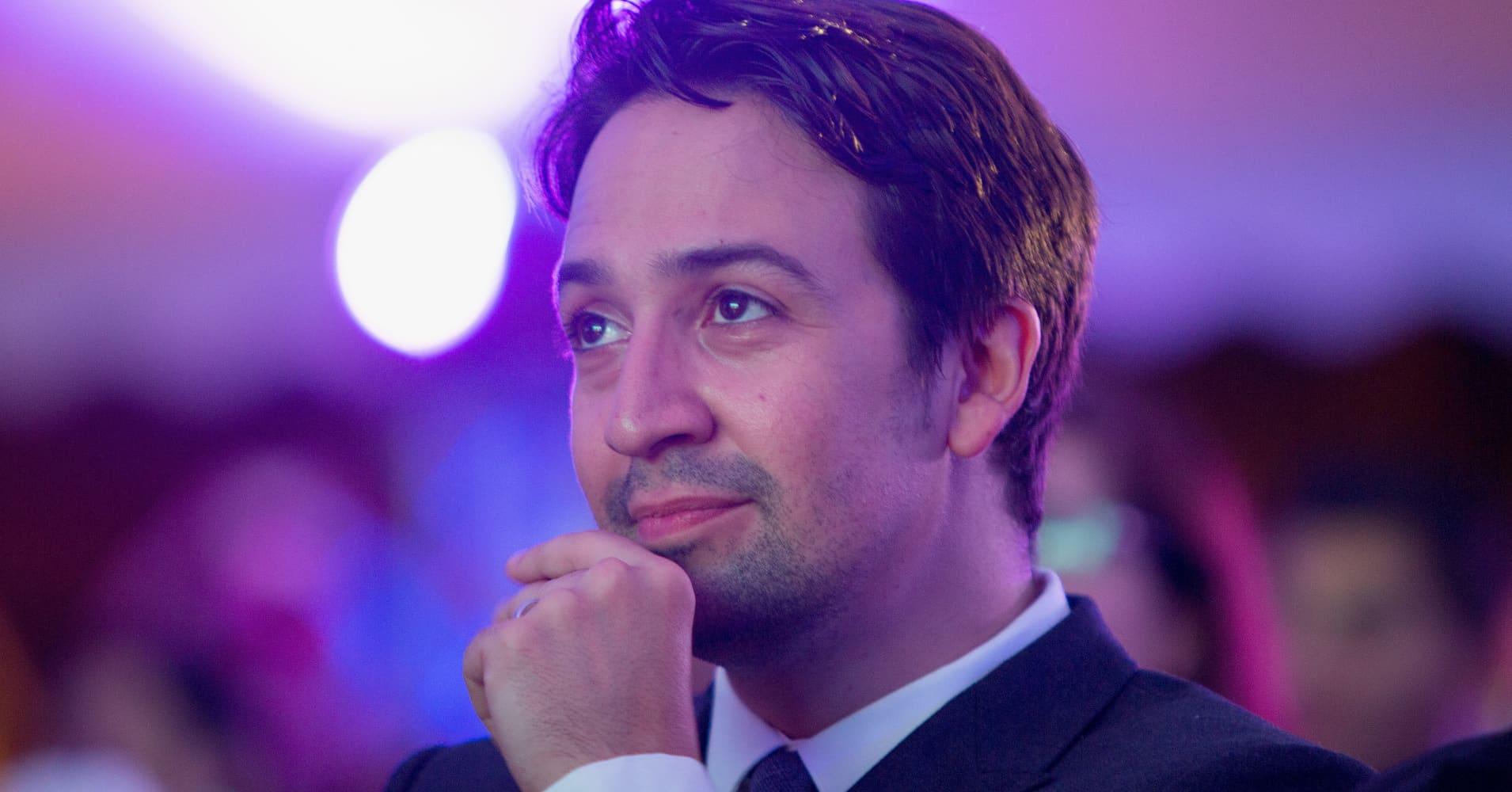 """Lin-Manuel Miranda, creator of """"Hamilton"""""""