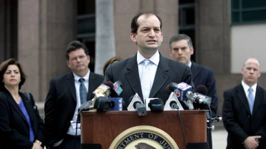 United States Attorney for the Southern District of Florida and nominee for Labor Secretary.