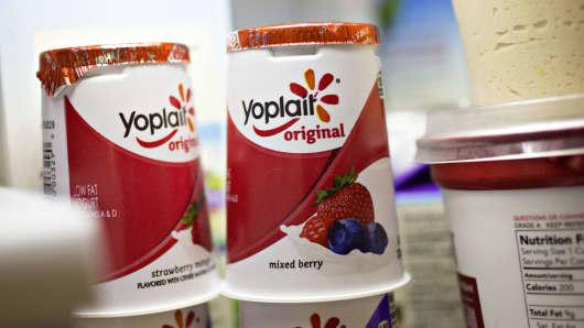Yoplait brand yogurt
