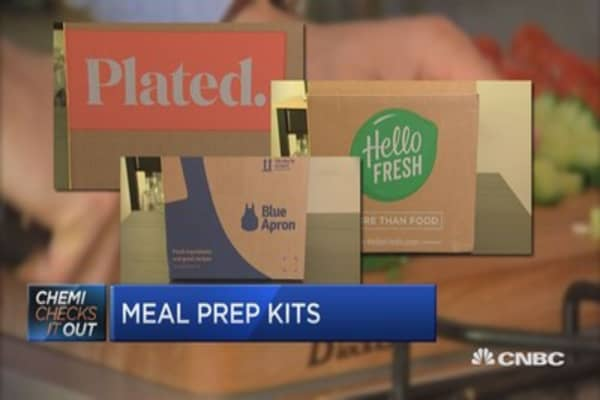 Everyone's into meal kits like Blue Apron, until they're not