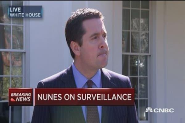 Rep. Nunes: Wiretapping of Trump's phone never happened