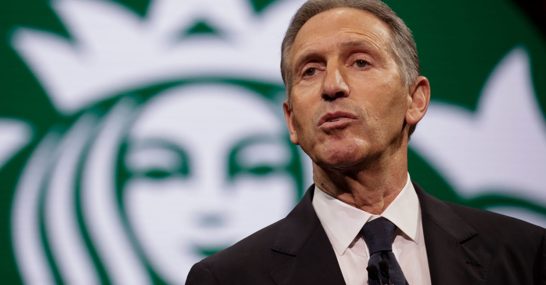 Starbucks Chairman and former CEO Howard Schultz