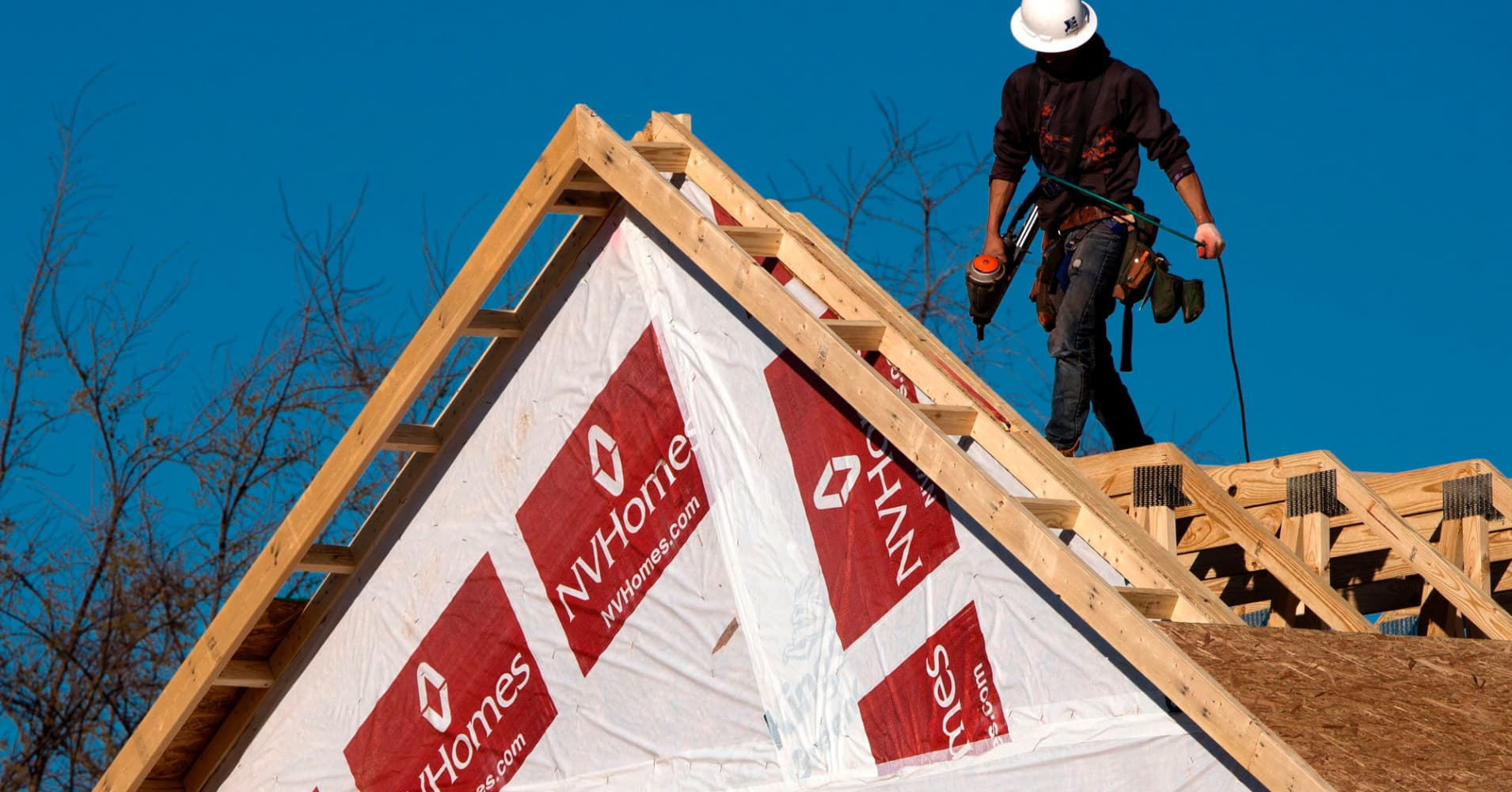 Hot housing stocks are cooling off, and there could be more trouble ahead