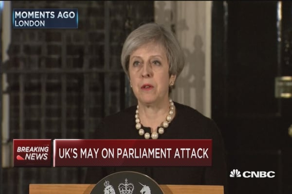 May: Have seen a sick and depraved attack in London
