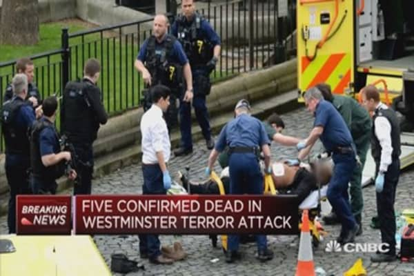 London will continue as normal, never giving into terror: UK PM May