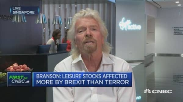 Each Virgin company works closely with governments on security: Richard Branson