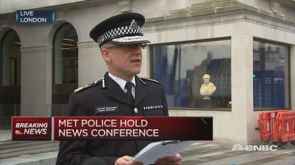 We have made 7 arrests: London's Met Police