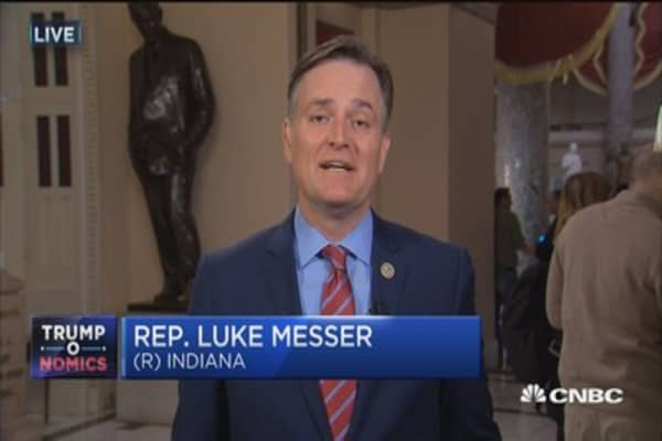 Rep. Messer: Repeal and replace Obamacare 'messy' process