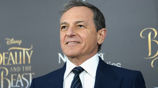 CEO of the Walt Disney Company, Bob Iger