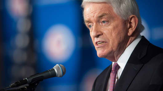 Thomas Donohue, president and chief executive officer of the U.S. Chamber of Commerce
