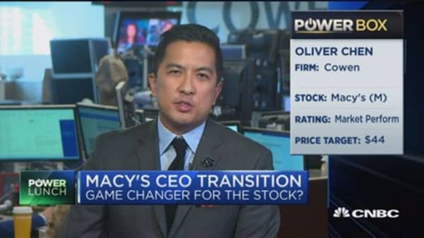 Analyst on Macy's: Management making good choices in hard environment