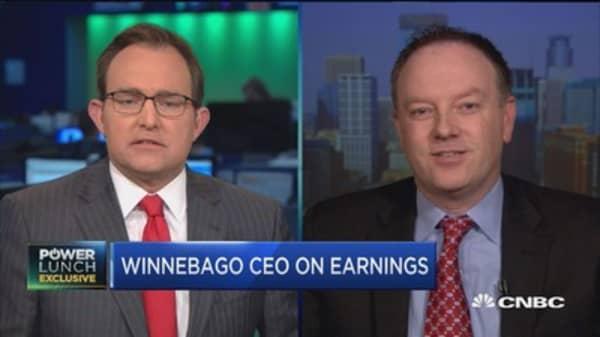 Winnebago CEO: Optimistic RV industry will continue upward momentum