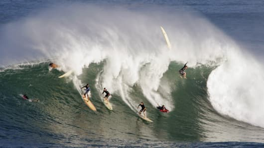 Final wave wipeout