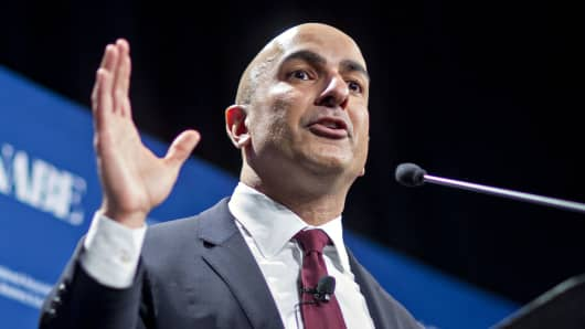 Neel Kashkari, president and chief executive officer of the Federal Reserve Bank of Minneapolis.