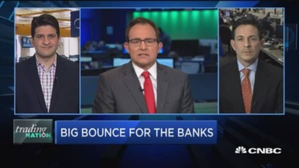 Trading Nation: Big bounce for the banks