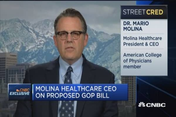 Molina Healthcare CEO: This bill is 'a big step backward and called progress'