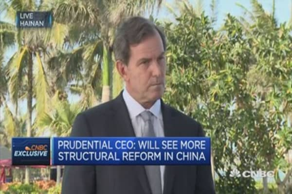 Political risk one of our key risks globally: Prudential CEO
