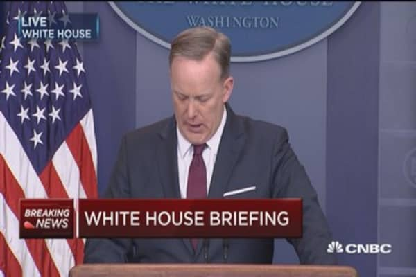 Spicer: President has 'left it on the field' for health bill
