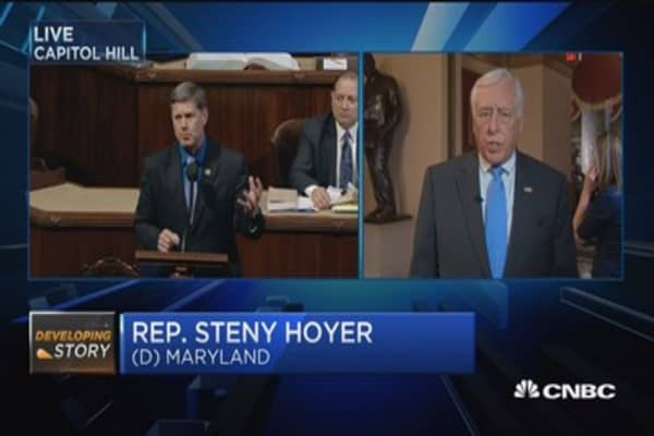 Rep. Hoyer: Americans ought to be disgusted with Congress