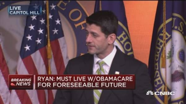 Speaker Ryan: Tax reform now more difficult, but not impossible