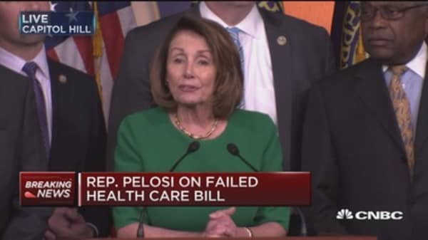 Rep. Pelosi: What happened was a victory for the American people