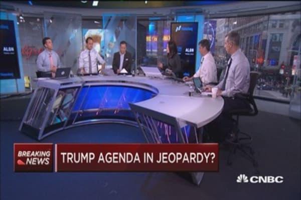Trump agenda in jeopardy?