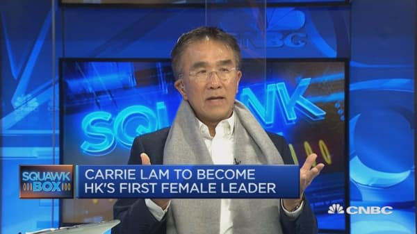 'Carrie is going to have a difficult job'
