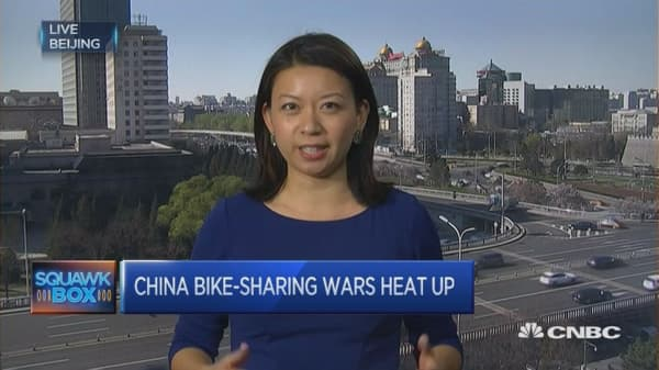 China goes bike to the future