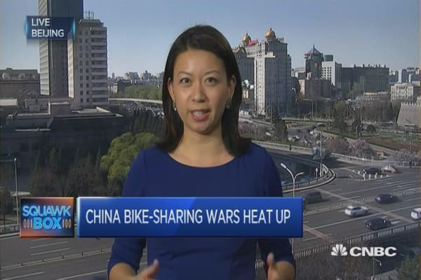 China goes bike to the future