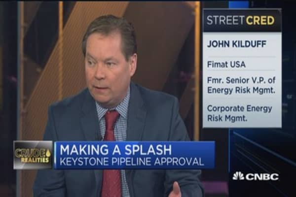 Kilduff: Keeping a lid on crude prices is the bottom line