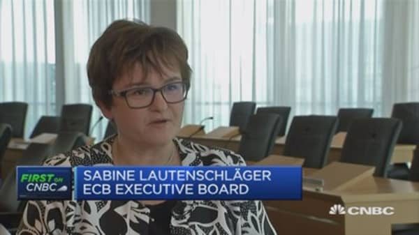 Banks must fulfil ECB requirements: ECB's Lautenschlaeger