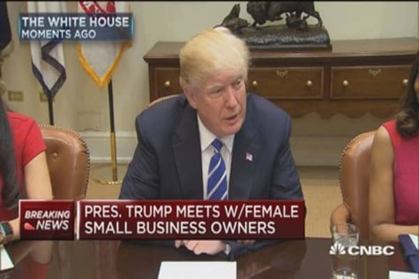 Trump: Empowering and promoting women in business is an absolute priority
