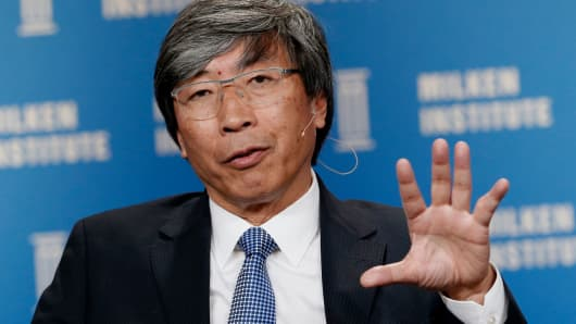 Patrick Soon-Shiong, founder and chief executive officer of NantHealth.