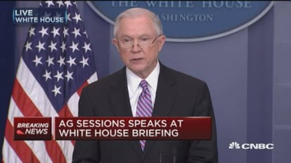 Sessions: We should not protect immigration felons