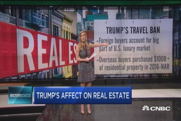 Trump's effect on real estate