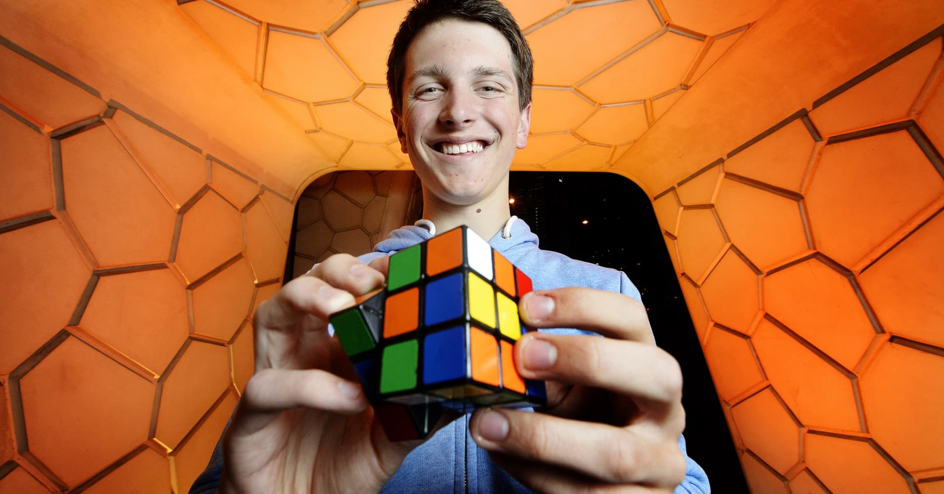 Rubiks Cube world champion Feliks Zemdegs