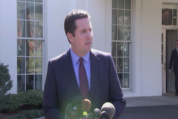 Nunes had a secret White House meeting before claiming that Trump had been monitored