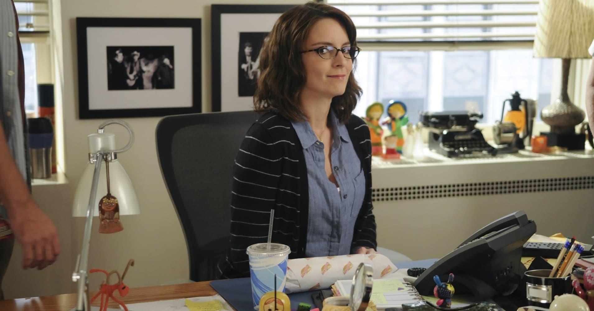 Tina Fey as Liz Lemon on 30 Rock