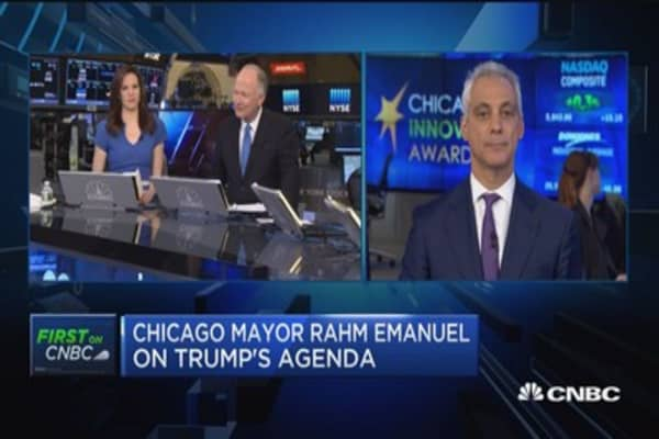 Chicago Mayor: I firmly believe in less regulation but not as a total effort