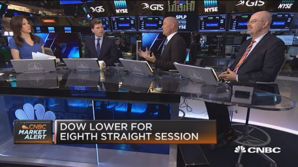 Santoli: Steam coming out of markets below the surface